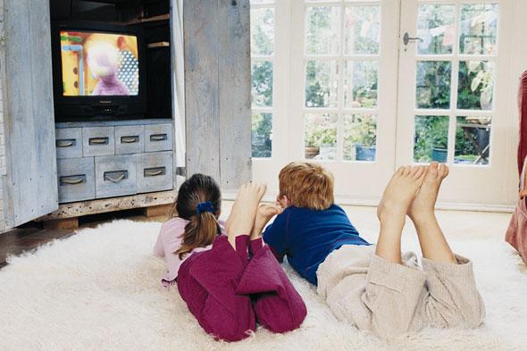 Τα αρνητικά της τηλεόρασης προς  τα παιδιά.