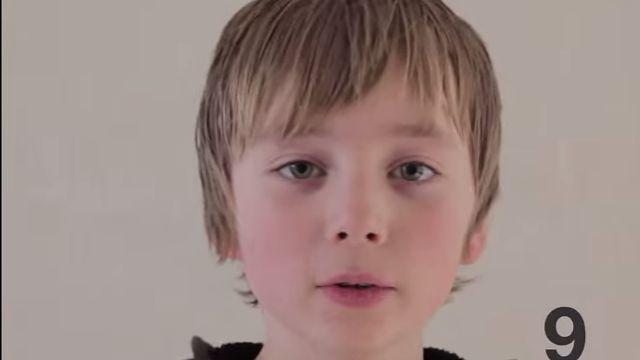 Η μεταμόρφωση ενός παιδιού από τη γέννηση έως 11 χρονών (βίντεο)