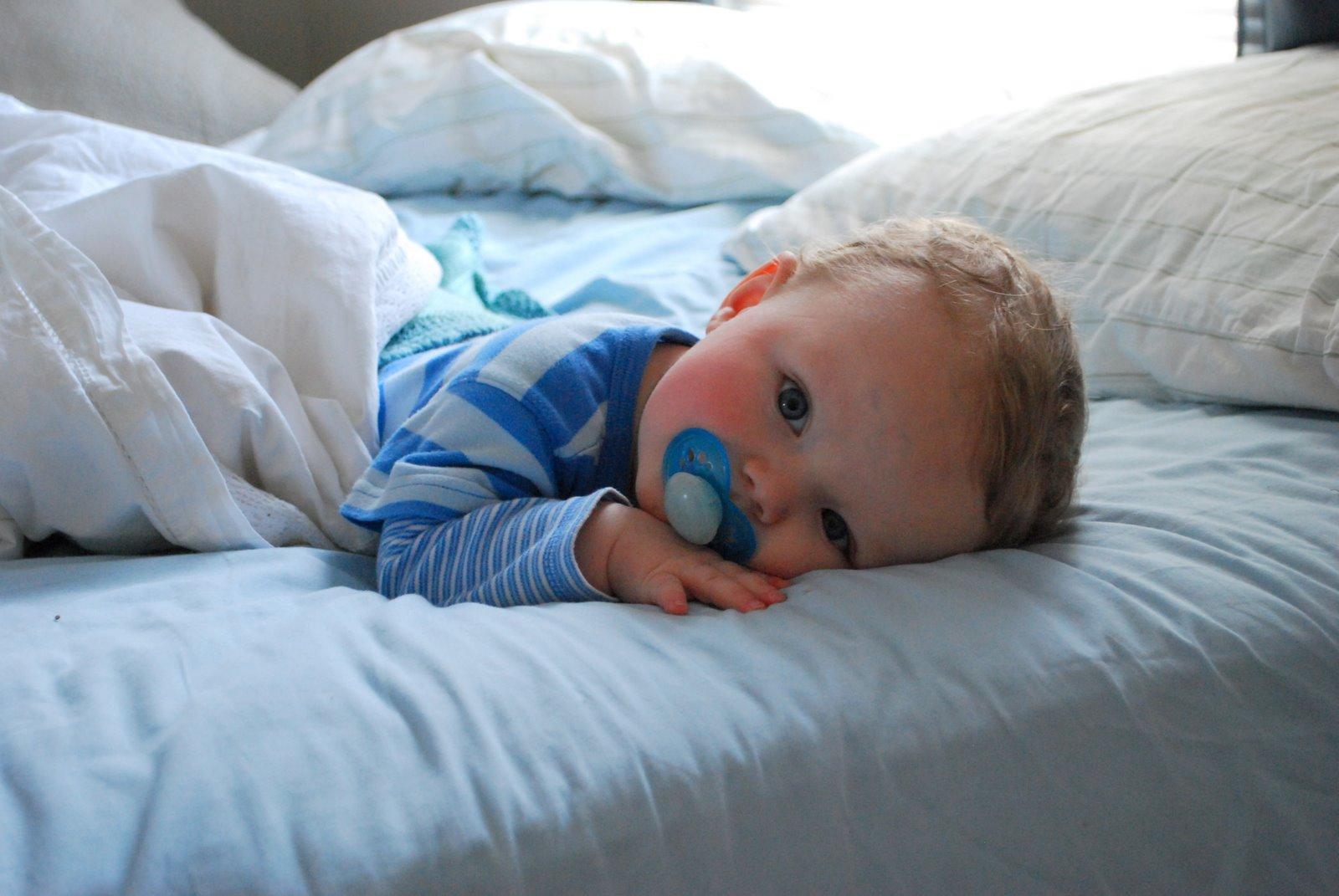 Το μωρό μου δεν κοιμάται όλη νύχτα. Να ανησυχήσω;